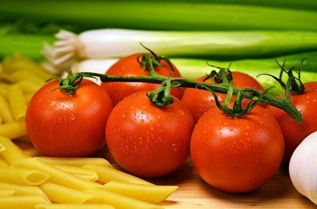 bunch of tomatoes
